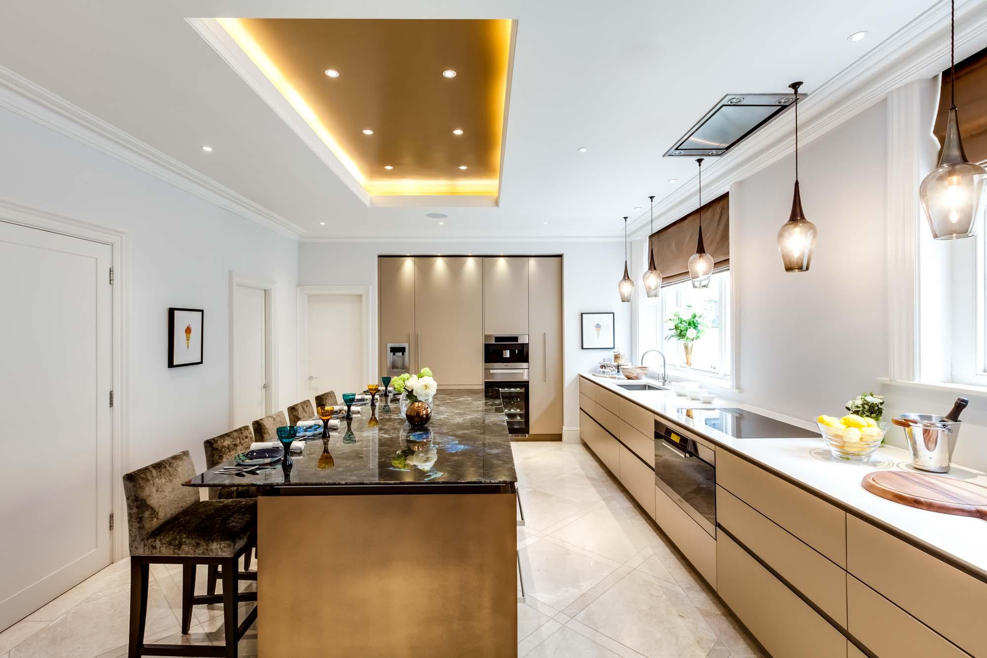 jonathan bond interior photographer, luxury kitchen, hyde park, london
