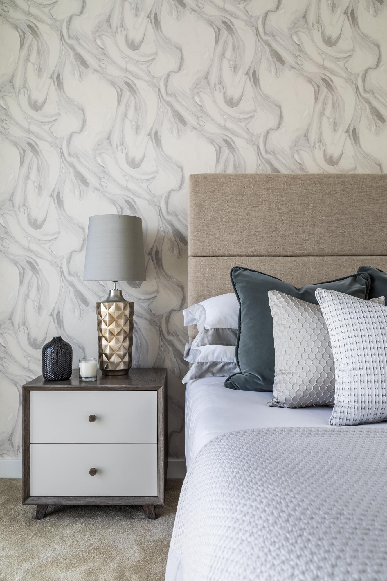 jonathan bond photography, sara slade interiors, bedside cabinet & lamps, cambridgeshire