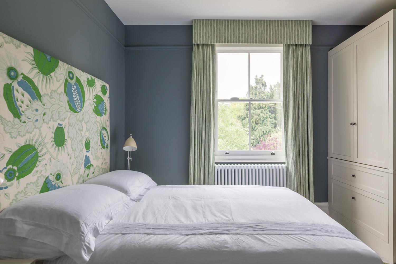 jonathan bond, interior photographer, double bedroom, ealing, london