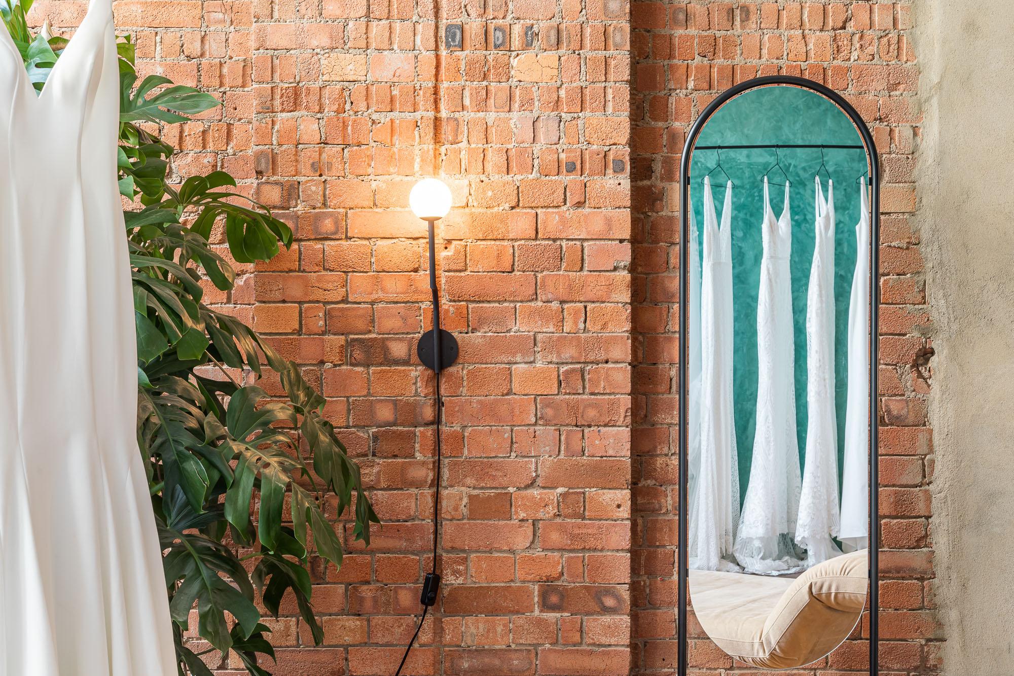 jonathan bond, interior photographer, brick wall lighting, made with love, london