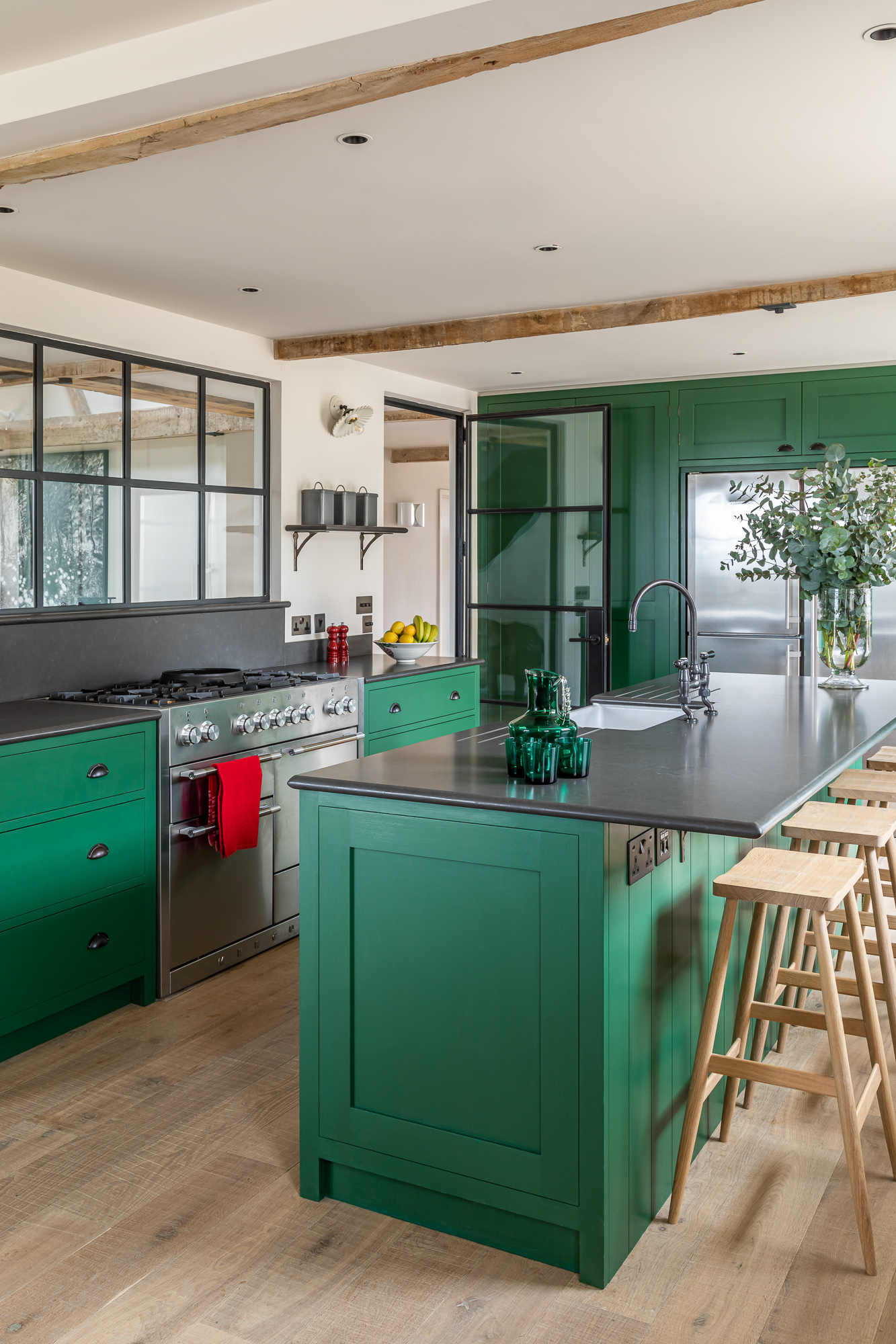 jonathan bond, interior photographer, kitchen island marnhull
