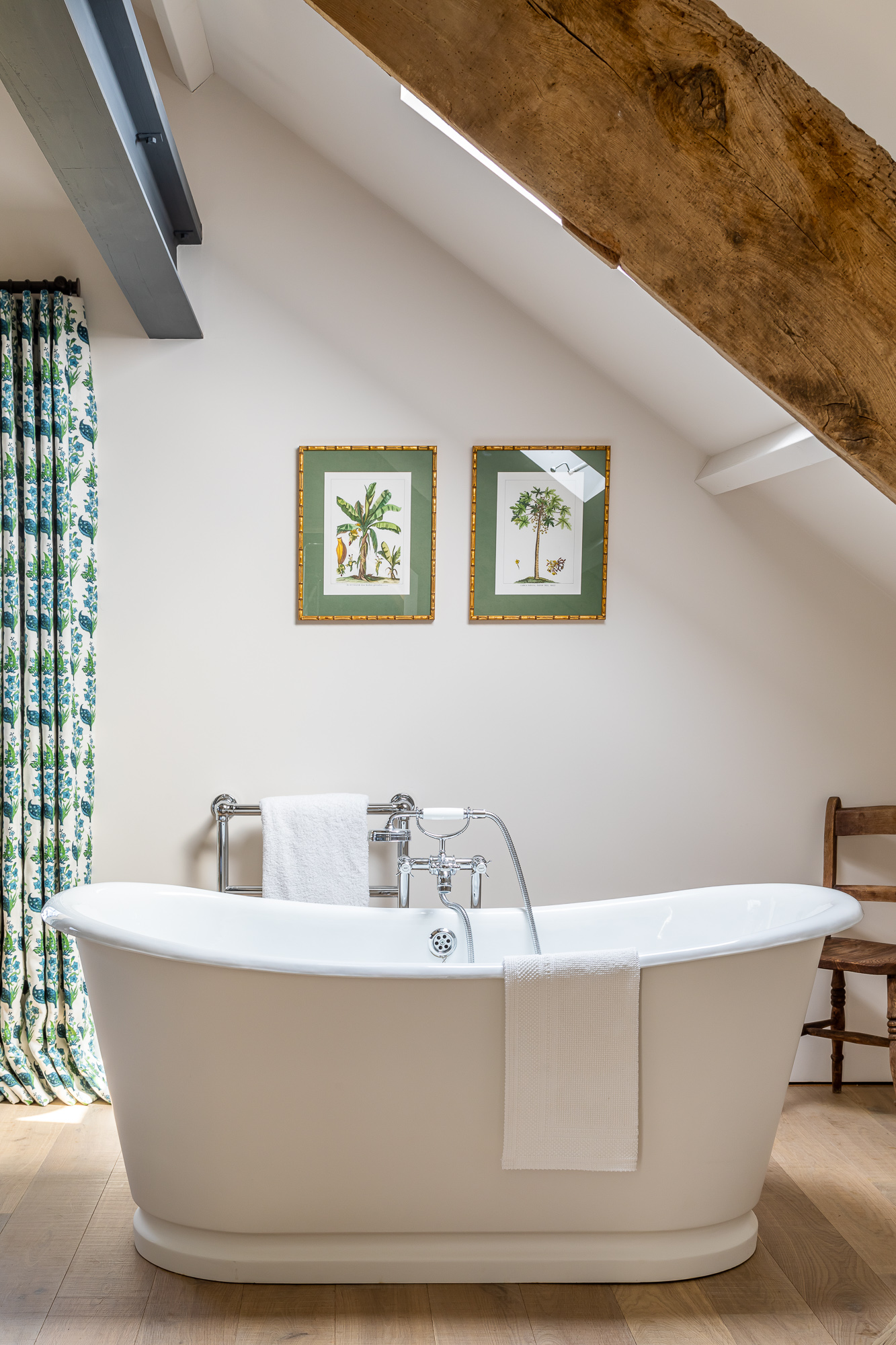 jonathan bond, interior photographer, freestanding bath marnhull