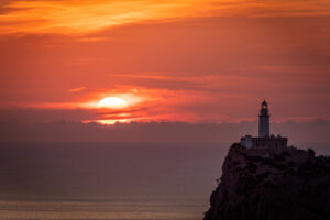Jonathan Bond, cap de Formentor, lighthouse, Mallorca, Spain, sunrise, sun