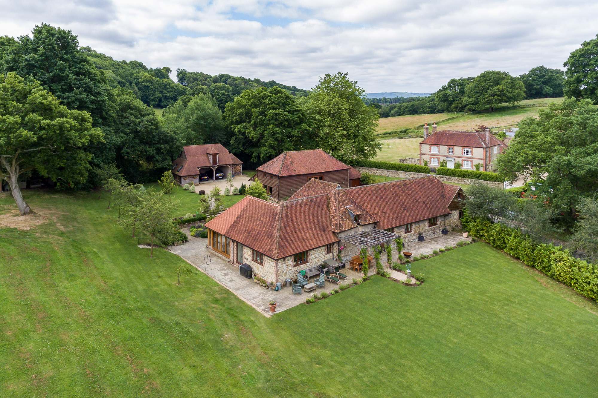 jonathan bond aerial photographer, aerial drone view of residential house